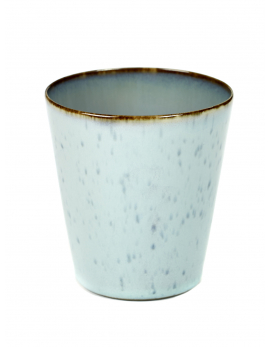 BEKER CONISCH M D8,5 H9,5 LIGHT BLUE / SMOKEY BLUE