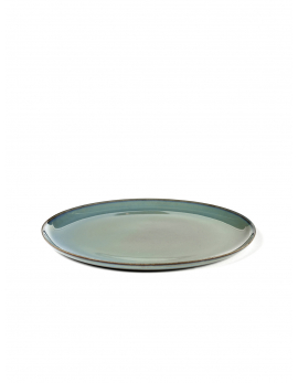 ASSIETTE M D22 SMOKEY BLUE