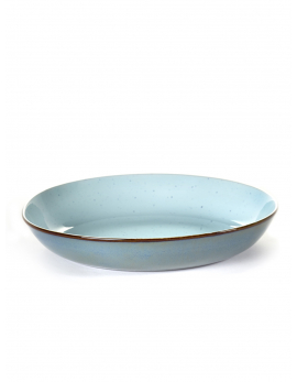 PASTA BORD D23,5 H4,5 CM LIGHT BLUE/SMOKEY BLUE