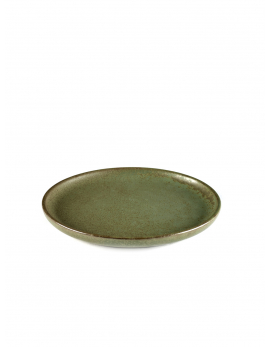 ASSIETTE A PAIN CAMO GREEN SURFACE