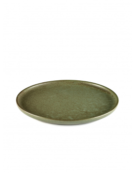 ASSIETTE A DESSERT CAMO GREEN SURFACE