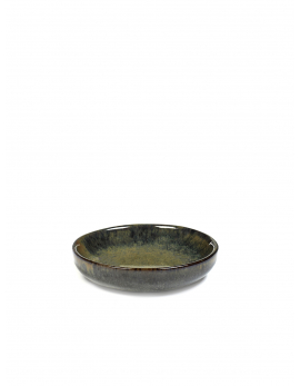 SMALL PLATE FOR OLIVES S CAMO INDI GREY SURFACE