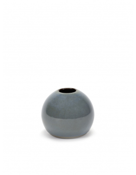 BALL VASE MINI ANITA SMOKEY BLUE D2,5H6