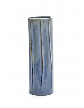 VASE CORNFLOWER BLUE TERRES DE REVES