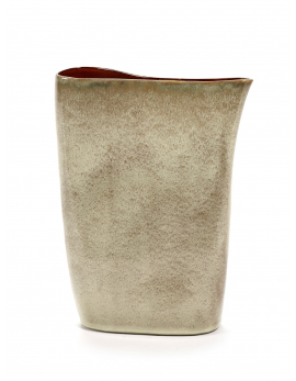 VASE HAUT MISTY GREY/ROUILLE TERRES DE REVES