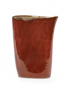 VASE HIGH RUSTY/MISTY GREY TERRES DE REVES