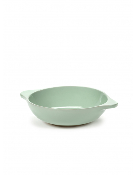 BOWL M TURQUOISE TABLE NOMADE 21X16 H5