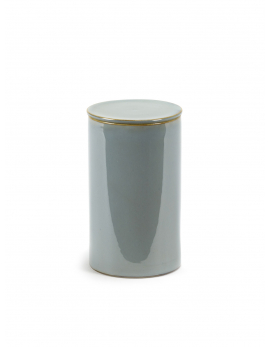 STORAGE POT D7 H12,5 SMOKEY BLUE
