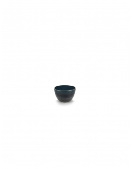 BOWL S BLUE GLAZED RUR:AL