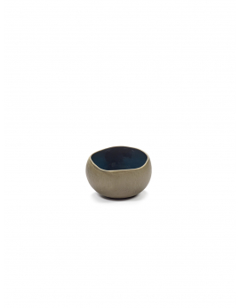 SERVING BOWL BLUE MAT RUR:AL