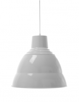 PENDANT LAMP 1 WHITE TRADITIONAL
