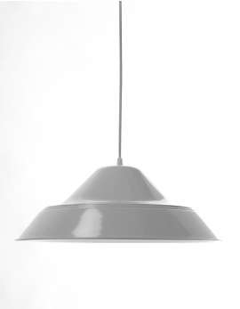 HANGLAMP 2 WIT TRADITIONEEL