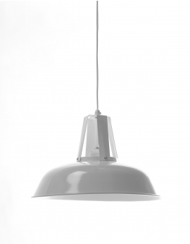 PENDANT LAMP 3 WHITE TRADITIONAL