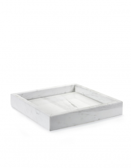 TABLETT L MARMOR WEISS TRAYS
