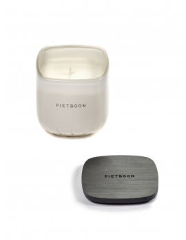 FRAGRANCE CANDLE WHITE 7AM SMALL PB 8X8XH9