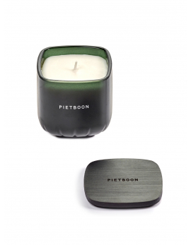FRAGRANCE CANDLE GREEN 10AM SMALL PB 8X8XH9
