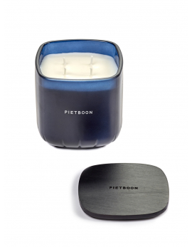 FRAGRANCE CANDLE BLUE 6PM MEDIUM PB 10X10XH11