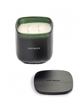 SCENTED CANDLE M GREEN 10AM