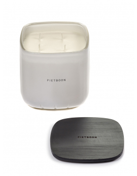 FRAGRANCE CANDLE WHITE 7AM LARGE PB 12X12XH13