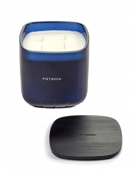 FRAGRANCE CANDLE BLUE 6PM LARGE PB 12X12XH13
