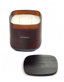 FRAGRANCE CANDLE BROWN 11PM LARGE PB 12X12XH13