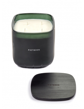 SCENTED CANDLE L GREEN 10AM