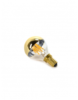LED LAMP MIRROR GOLD