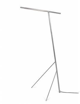 FLOOR LAMP STEEL / BRASS MATTIA
