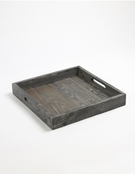 TRAY WOOD SQUARE TRAYS