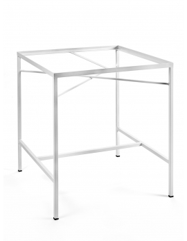PIETEMENT TABLE BLANC