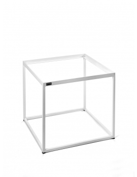 PIETEMENT TABLE D'APPOINT BLANC