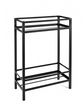 PLANT STAND S BLACK