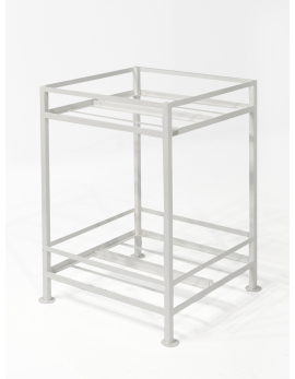 PLANT STAND S WHITE