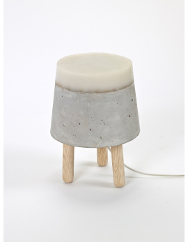 LAMPE DE TABLE S CONCRETE