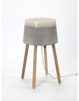 LAMPE DE TABLE M CONCRETE