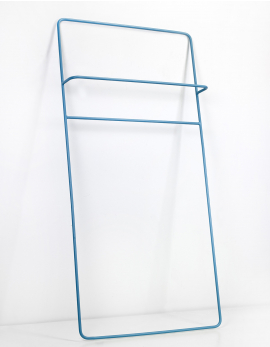 TOWEL RACK BLUE JUNO