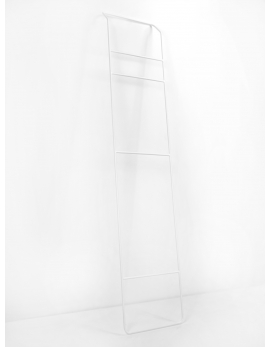TOWEL RACK WHITE JUNO