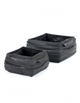 POT RUBBER SQUARE SET/2