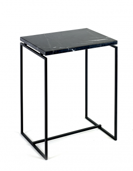 SIDE TABLE HIGH BLACK DIALECT