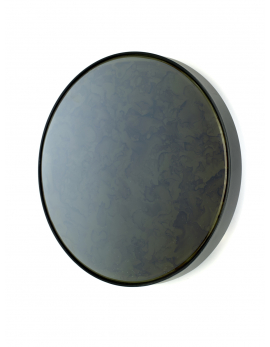 MIRROR TRAY ROUND STUDIO SIMPLE D31 H6 BLACK