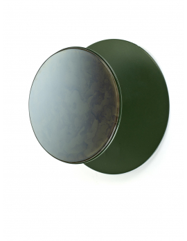 PORTE-MANTEAU MIROIR S STUDIO SIMPLE D25 H11 VERT