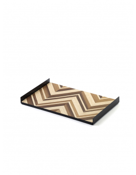DECORATIVE TRAY FISH BONE CHARLES