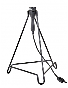 LAMP BLACK MATT STUDIO SIMPLE 33x33 H46
