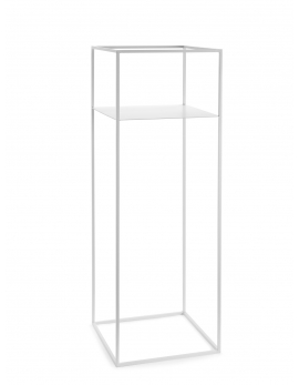 PLANT DISPLAY RACK WHITE L 39X39H110
