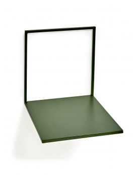 SHELVE ARMY GREEN L 20X20H21,5