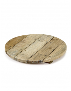 TRAY ROUND WOOD TRAYS