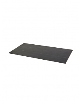 DESSUS D'UN TABLE STUDIO SIMPLE NOIR S 150X75 H2