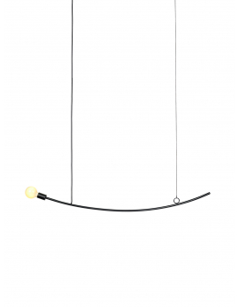 PENDANT LAMP ACCENT CURVED