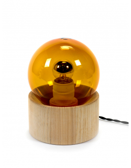 LAMPE DE TABLE AMBRE