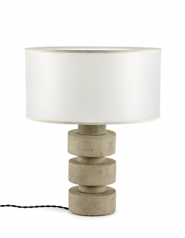 DISC LAMP CONCRETE D50 H38